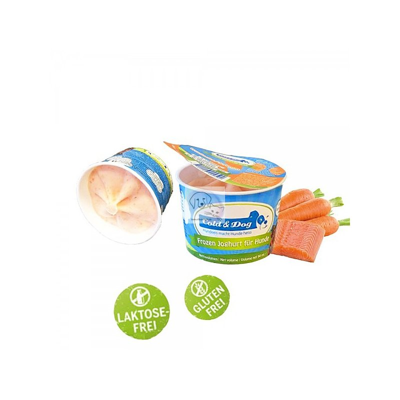 Cold & Dog Frozen Joghurt Wildlachs (90ml)