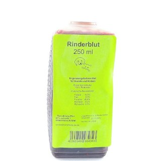Rinderblut (250ml)